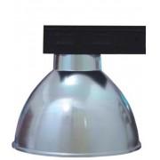 Lumin�ria Prism�tica 16 POL Alojamento Caixa Preta Industrial Difusor Aluminio - INDUSPAR