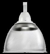Luminária Prismática Cone e Gancho 22 Polegadas - E40 Cristal