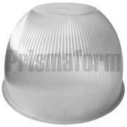 Luminária Prismática 22 Polegadas Difusor Avulso PS  Cristal Furo 40MM