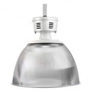 Luminária Prismática Taça 16 Polegadas - E40 Cristal
