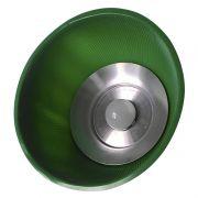 Luminária  LED 18W  Verde Pendente Prismática