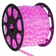 Mangueira 127V Pink LED - Luminosa Corda de Natal