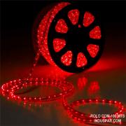 Mangueira Luminosa Vermelha 127V LED - Corda de Natal 10 / 100 Metros