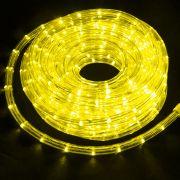 Mangueira Luminosa Amarela LED -   Metro 220V - Corda de Natal