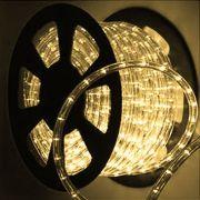 Mangueira Luminosa Branca Incandescente - 100 Metros 127V - Corda de Natal