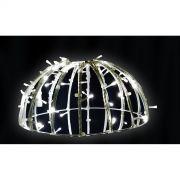 Meia Bola de Natal Iluminada 3D LED 100 cm