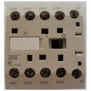 Mini Contator Auxiliar JNG JZC8 40Z 220V - 4NA
