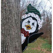 Pinguim na Arvore Toca Verde Artesanal