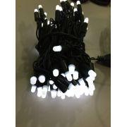 Pisca 100 LEDS UL Branco Frio Fixo Encapsulado Profissional - 220V