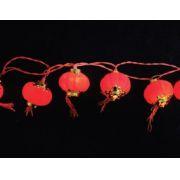 PISCA  20 LED LANTERNA CHINES - 3,60 METROS - REF 1124 / 1125 - INDUSPAR