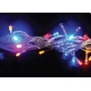 PISCA-PISCA 100 LED COLORIDO - 10,00M - 4 FUN��ES ( PISCA ) REF 1041/1117 - INDUSPAR