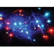 PISCA - PISCA 100 LED COLORIDO - FIO VERDE - 10,00 METROS - 4 FUN��ES ( PISCA ) - REF 1353/1354 - INDUSPAR