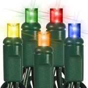 Pisca - Pisca 100 Micro Lâmpadas Colorido com 5,50 Metros 127V ( PISCA 4 FUNÇÕES ) - REF 1020