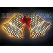 PISCA - PISCA  24 LED SINO DOURADO - 37 x 19 CM - REF 1837/1838 - INDUSPAR
