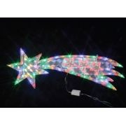 PISCA  69 LED COMETA COLORIDO - 75x23CM - REF 1804/1805 - INDUSPAR