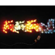 PISCA - PISCA  72 LEDS TREN� COLORIDO - 85X22 CM - REF 1050 / 1149 - INDUSPAR