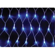 REDE 160 LED AZUL FIO BRANCO - 2,20 x 1,25 METROS - REF 1121-1150 - INDUSPAR