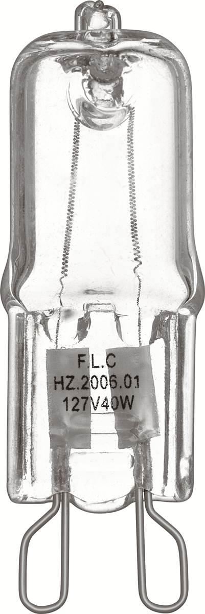 Lâmpada Halogena Halopin G-9 Transparente - 60W