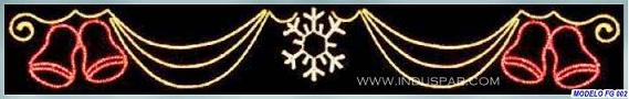 Painel de Natal Iluminado - Cortina Natalina