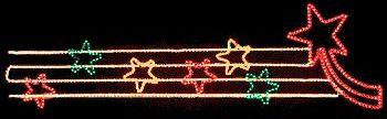 Painel de Natal Iluminado - Vitrine B