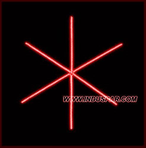 Estrela Iluminada 6 Pontas Linear FX - MED 2,00 MTS