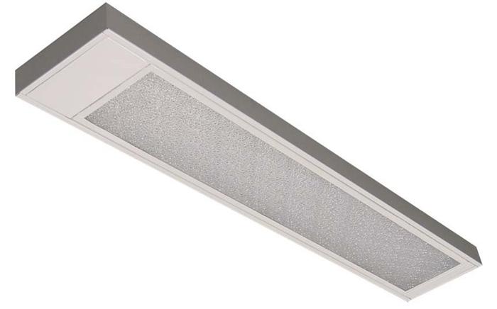 Luminária para Lâmpada Fluorescente de Embutir Comercial - Ref. 3053