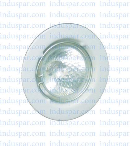 Luminária para Lâmpada Fluorescente de Embutir Decorativa - Ref. 6005