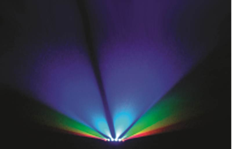 LED TEK RAVE TRI DMX