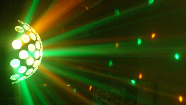 LED TEK NOVA RAY RGBWY DMX