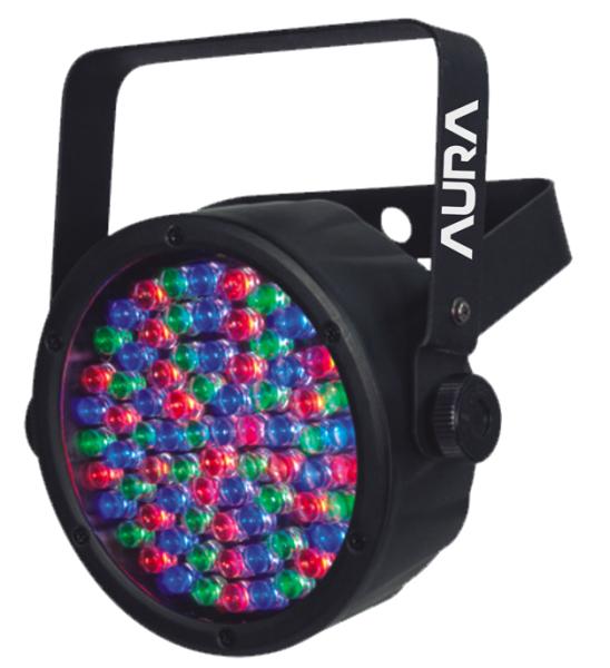 LED TEK CANHAO FLAT PAR 38 RGB DMX