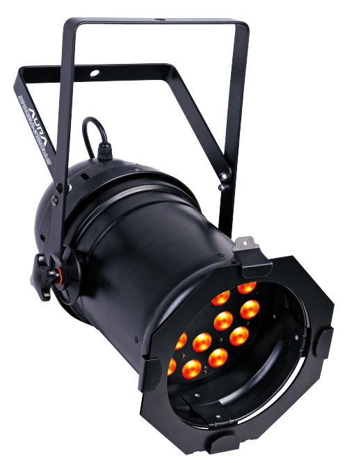 LED TEK CANHÃO PAR 64 QUAD 18 RGBW DMX