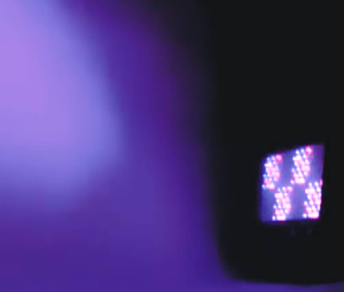 PAINEL DE LED RGB DMX