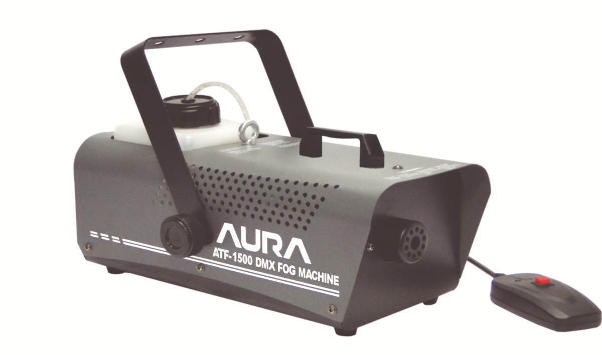 MAQUINA DE FUMACA 1500W - AB-1500 - CONTROLE MANUAL