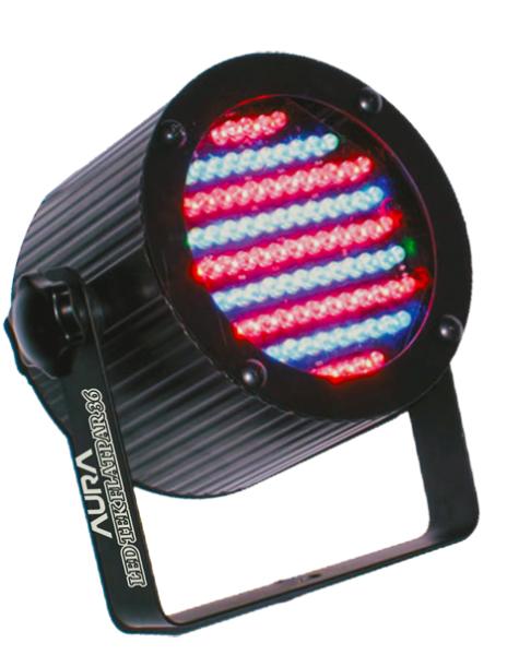 LED TEK CANHAO PAR 36 RGB DMX