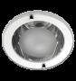 Lumin�ria de Embutir 130MM Aluminio tipo Funil, para 1 L�mpada de 20W, Soquete E27 - INDUSPAR
