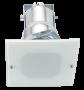 Lumin�ria de Embutir 150X150MM Aluminio tipo Quadrado, para 1 L�mpada de 25W, Soquete E27 - WDESIGN - INDUSPAR