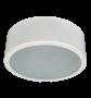 Lumin�ria de Sobrepor de 200MM em Aluminio, Redonda, para 1 L�mpada de 25W, Soquete E27 - WDESIGN - INDUSPAR