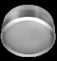 Lumin�ria de Sobrepor de 240MM em Aluminio, Redonda, para 2 L�mpadas de 25W, Soquete E27 - WDESIGN - INDUSPAR