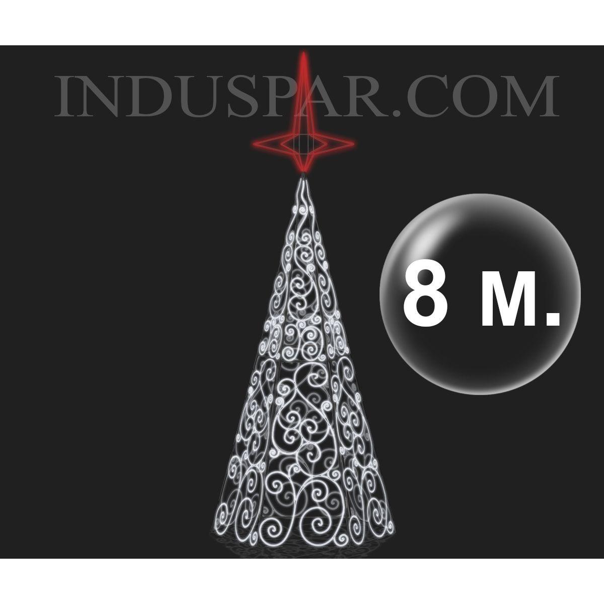 Árvore de Natal Gigante 3 / 12 Metros Ornatos LED