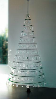 Arvore de Natal Moderna Spin Grande