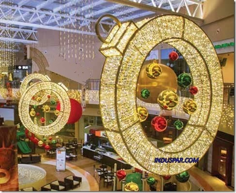 Bola de Natal 2,50 Metros Gigante Glamour Roma