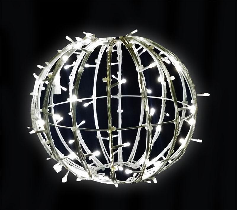 Bola de Natal 1,00 Metro Gigante Led Esfera