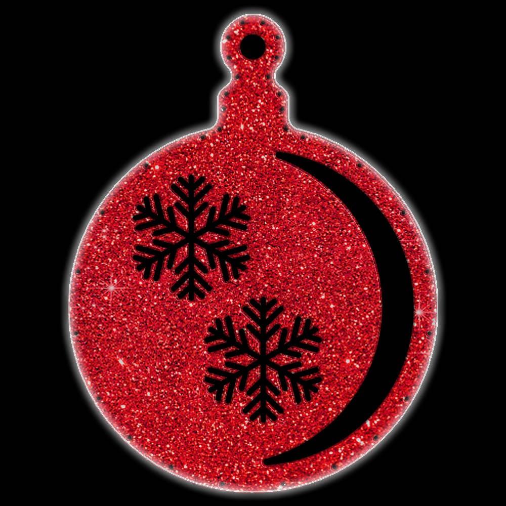 Bola de Natal  52 cm Gigante Iluminado LED Decoração para Dia e Noite - BN03-DN