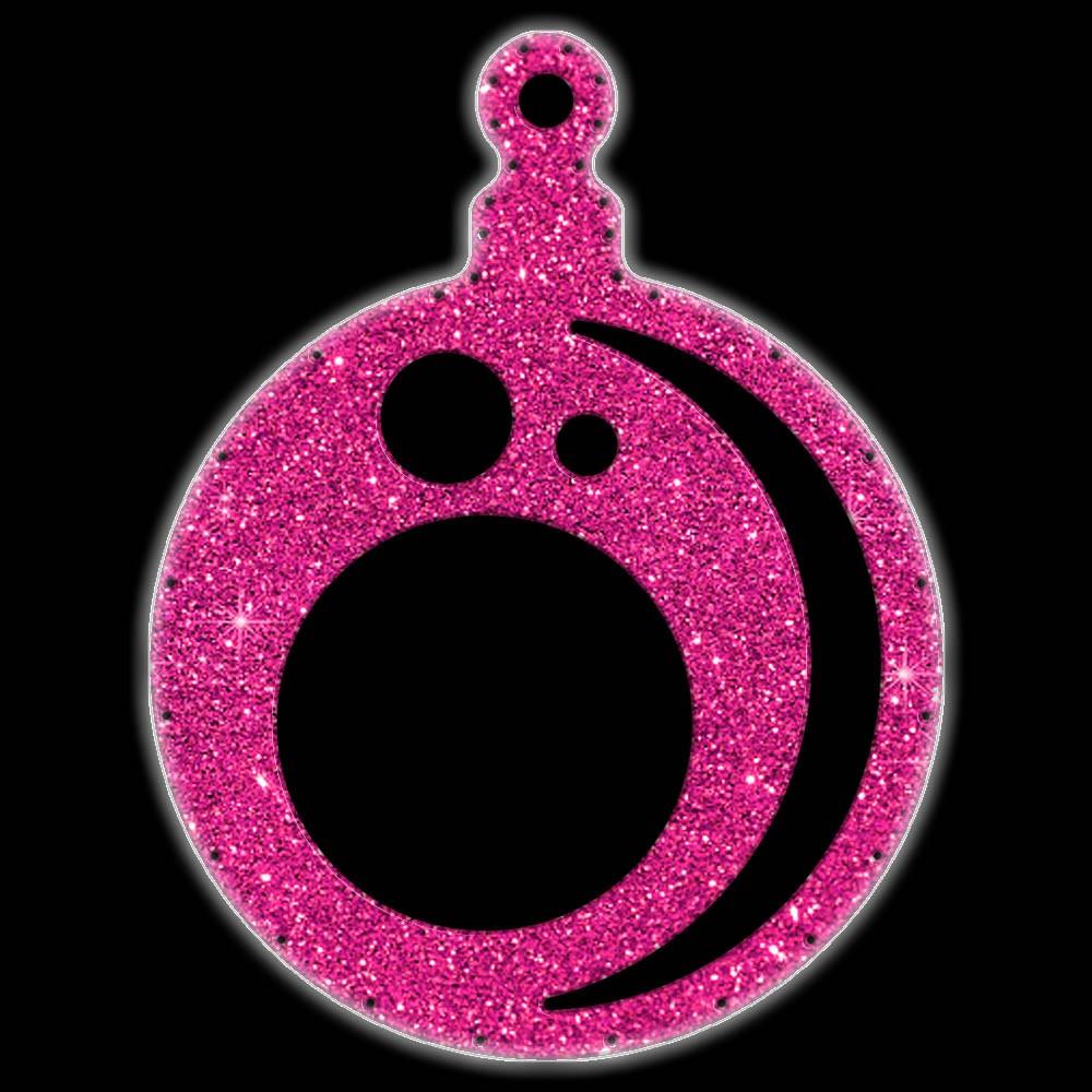 Bola de Natal  52 cm Gigante Iluminado LED Decoração para Dia e Noite - BN04-DN