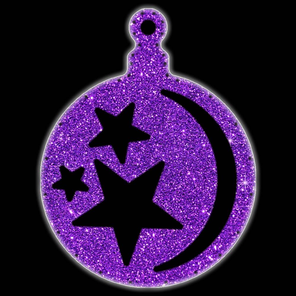 Bola de Natal  52 cm Gigante Iluminado LED Decoração para Dia e Noite - BN01-DN