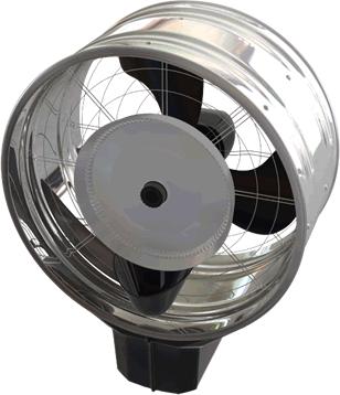 Climatizador Comercial ou Industrial Oscilante em Aço Inox Luxo