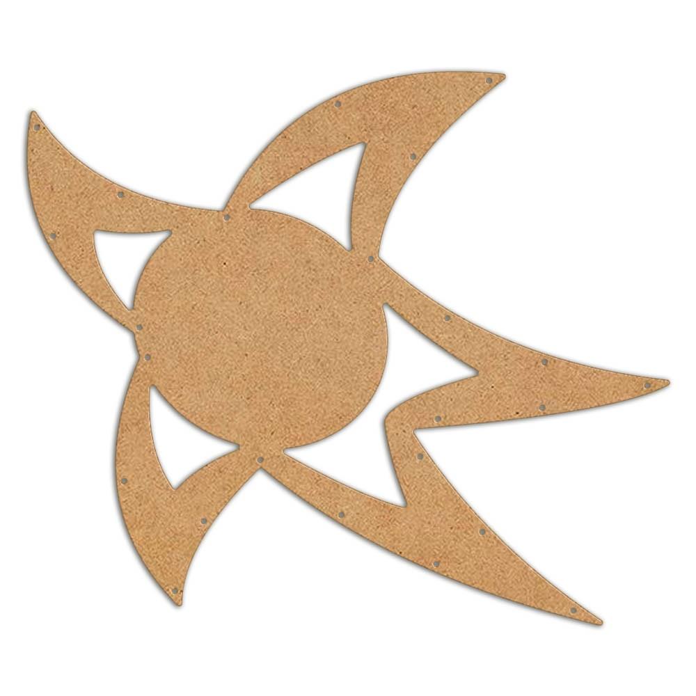 Estrela Egipcia de Natal Gigante Iluminada LED Decoração Dia e Noite - ESTR-02