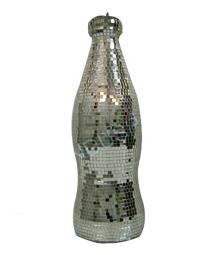 Garrafa de Coca-Cola Espelhada