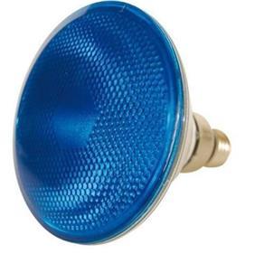 LAMP HAL PAR 38  75W AZUL 220V