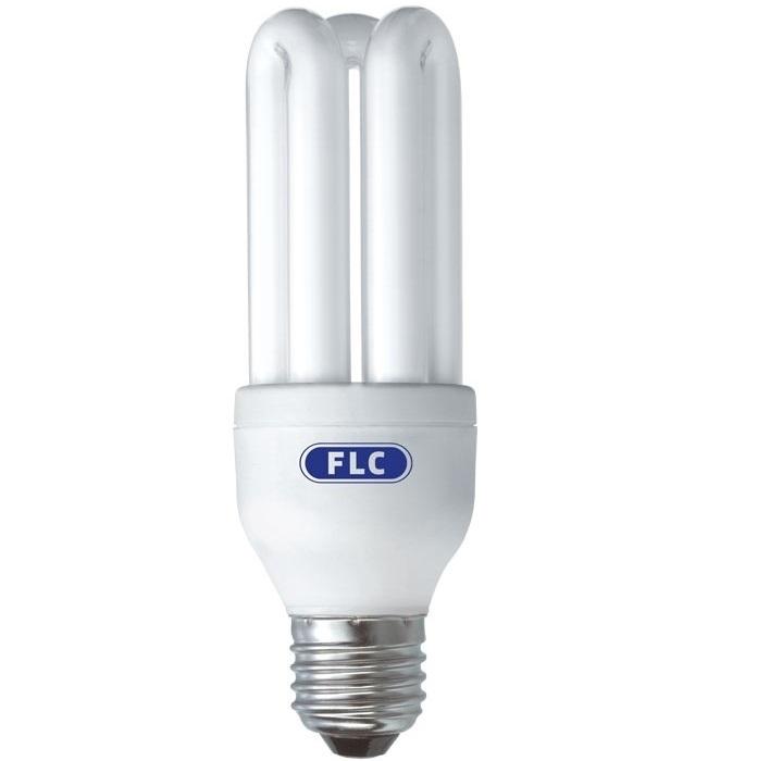 Lâmpada Econômica  15W 3U 127V 2700K Branco Morno - E27 FLC